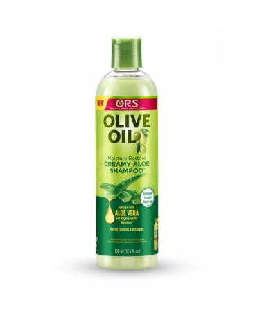 ORS OLIVE OIL CHAMPÚ CREAMY ALOE WITH ALOE VERA 12,5OZ/370ML