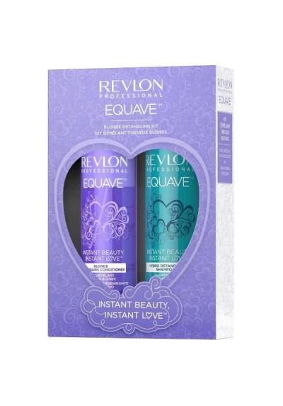 REVLON PACK INSTANT LOVE BLONDE ACONDICIONADOR + CHAMPU