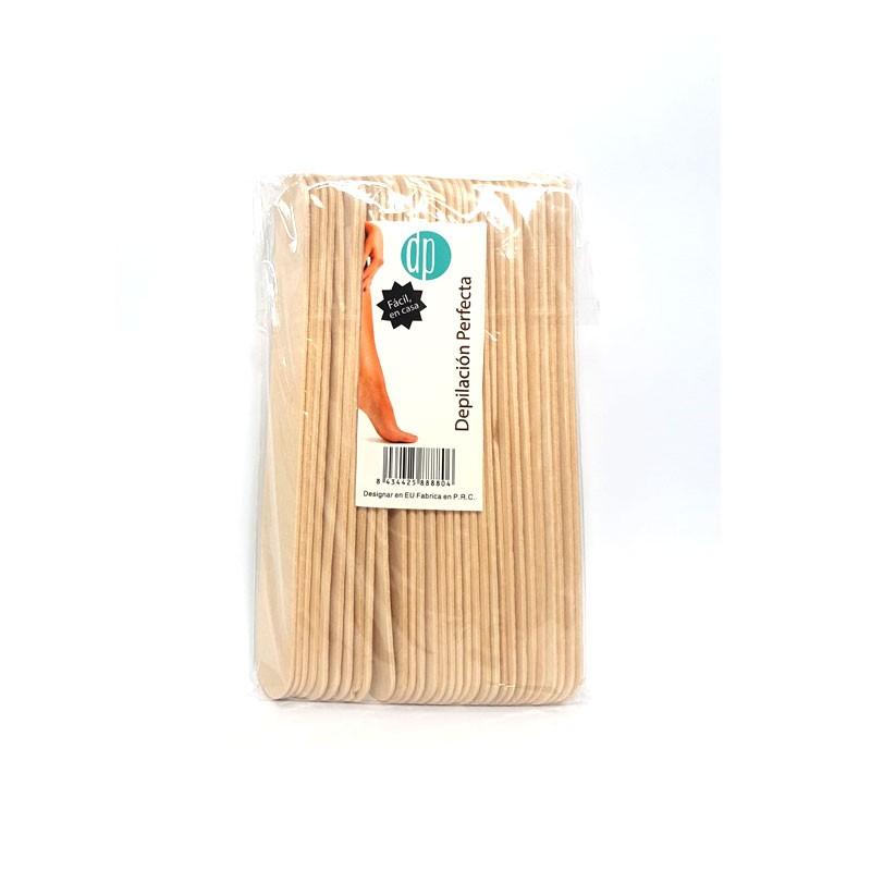 Palo de madera depilación 30 unidades