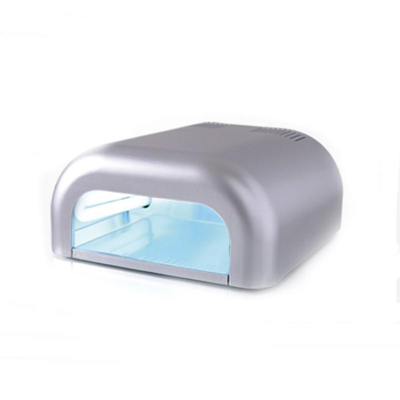 lámpara uva nail gris